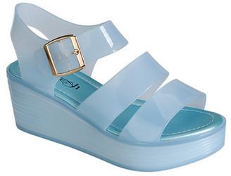 Refresh Ramona Jelly Platform Sandal $37.99 thestylecure.com