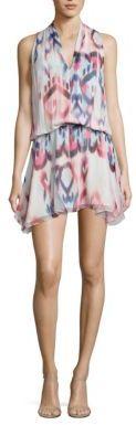 Ramy Brook Glam Ikat Printed Ruthie Silk Dress $395 thestylecure.com