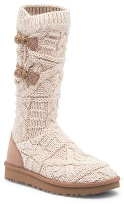 UGG Kalla Crochet Genuine Shearling Boot