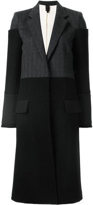 Vera Wang tiered-shoulder reefer coat $2,275 thestylecure.com