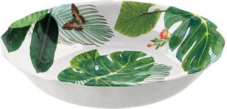 Epicurean Amazon Floral Melamine Serving Bowl
