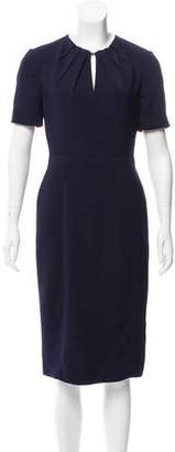 Burberry Midi Crepe Dress