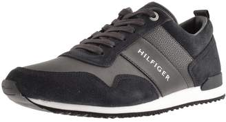 Tommy Hilfiger Iconic Nubuck Trainers Navy