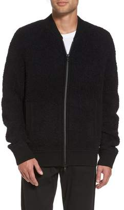 Vince Teddy Wool Blend Bomber Jacket
