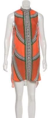 Mara Hoffman Mini Button-Up Dress