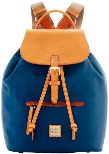 Dooney & Bourke Windham Allie Backpack - NAVY - STYLE