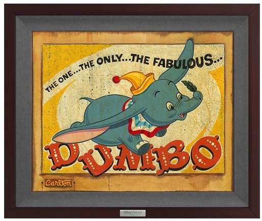 Dumbo The One & Only Limited Edition Framed Wall Art