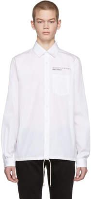 Valentino White Coordinates Shirt