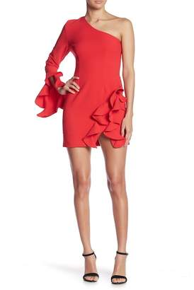 Do & Be Do + Be One-Shoulder Ruffle Dress
