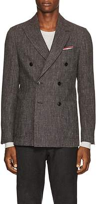 Pal Zileri MEN'S WOOL-BLEND DOUBLE-BREASTED SPORTCOAT