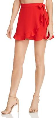 Show Me Your Mumu Roam Mini Wrap Skirt