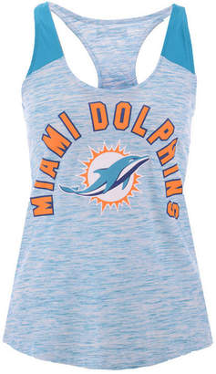 5th & Ocean Women's Miami Dolphins Space Dye Tank