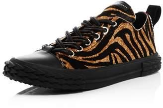 Giuseppe Zanotti Men's Animal Print Blabber Sneakers - 100% Exclusive
