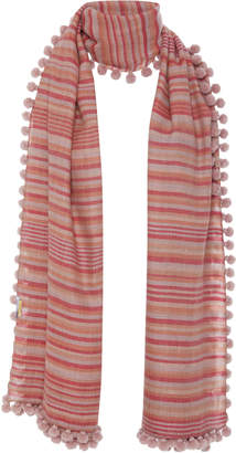 Matta Dupatta Noor Striped Cashmere Shawl