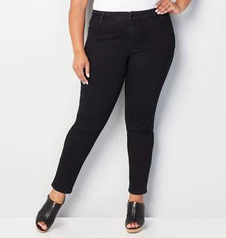 Avenue 1432 Skinny Jean in Black
