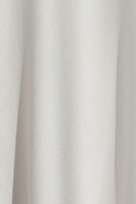 Jason Wu Open-back paneled crepe and satin dress