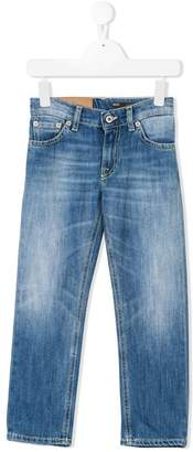 Dondup Kids faded slim-fit jeans