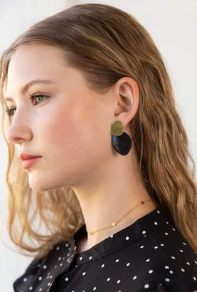 Soko Sabi Contrast Stud Earrings
