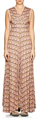 "Chloé Women's ""Owl Eye""-Print Maxi Dress"