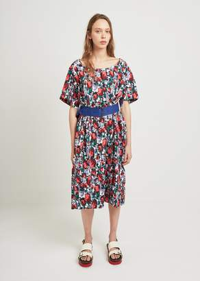 Marni Rose Print Dress