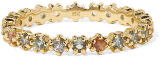 Melissa Joy Manning 18-karat Gold Sapphire Ring