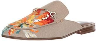 Nine West Women's WILLONA Linen Loafer Flat