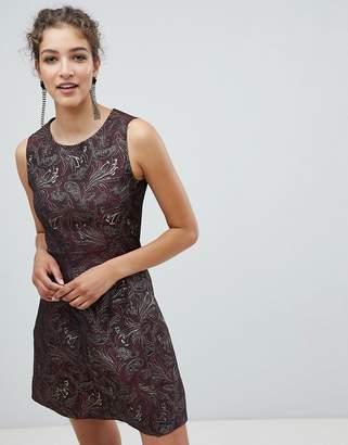 AX Paris Jacquard Skater Dress