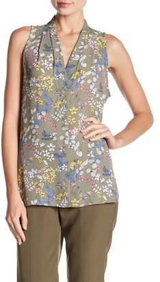 Vince Camuto Sleeveless Printed Blouse