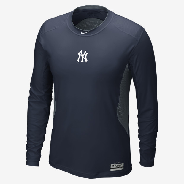 Nike Pro Combat Hypercool (MLB Yankees) Men's Baseball Shirt