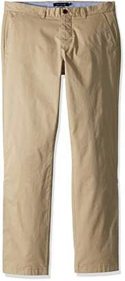 Tommy Hilfiger Adaptive Men's Chino Pants Adjustable Waist Magnets