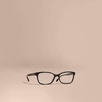 Burberry Rectangular Optical Frames $195 thestylecure.com
