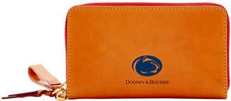 Dooney & Bourke NCAA Penn State Zip Around Phone Wristlet