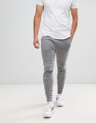 G Star G-Star Motac-x logo tapered sweatpants in gray