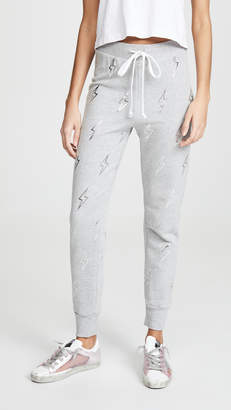 Wildfox Couture Silver Bolt Jack Joggers
