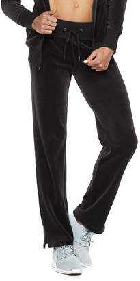 Tek Gear Women's Velour Mid-Rise Sweatpants