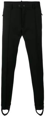 DSQUARED2 exposed seam tapered leg trousers