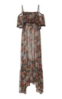 Celestina Anjuna Off The Shoulder Maxi Dress