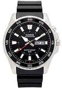 Casio Casio Men's Black Dive Style Watch