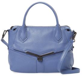 Valentina Mini Leather Satchel