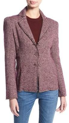 Brock Collection Jocelyn Tweed Blazer Jacket