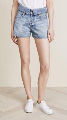 Atelier Jean Flip Denim Shorts