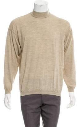 Barneys New York Barney's New York Wool Turtleneck Sweater