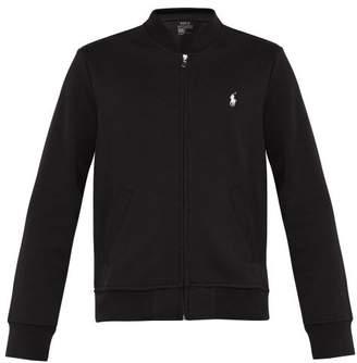Polo Ralph Lauren Logo Embroidered Zip Through Track Jacket - Mens - Black