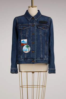 Kenzo Denim Jacket with Badges