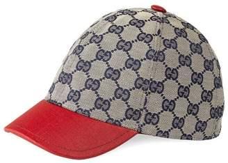Gucci Kids Children's Original GG cap