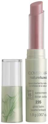 Cover Girl Natureluxe Gloss Balm, Shade: 235 Grenache, 0.67 oz/1.9 g