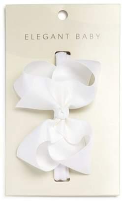 Elegant Baby Hair Bow Headband - Baby