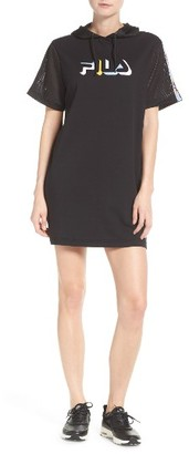Women's Fila Frieda Hooded Minidress $70 thestylecure.com