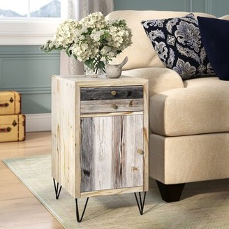 Bronx Ivy Calliphon Plank End Table Ivy