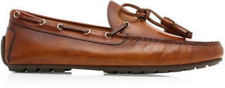 Ralph Lauren Harold Tasseled Leather Boat Shoes